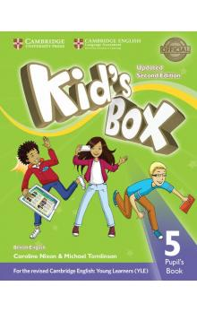 Kid's Box Level 5 Pupil's Book, 2E Updated -- Učebnice