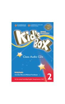 Kid's Box Level 2 Class Audio CDs /4/, 2E Updated -- CD