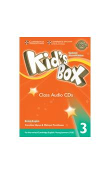 Kid's Box Level 3 Class Audio CDs /3/, 2E Updated -- CD