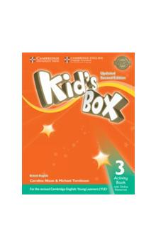 Kid's Box Level 3 Activity Book with Online Resources, 2E Updated -- Pracovní sešit