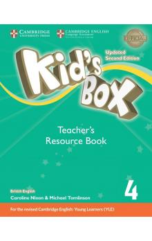 Kid's Box Level 4 Teacher's Resource Book with Online Audio, 2E Updated -- Příručka učitele