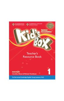 Kid's Box Level 1 Teacher`s Resource Book with Online Audio, 2E Updated -- Příručka učitele