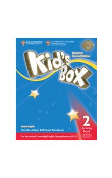 Kid's Box Level 2 Activity Book with Online Resources, 2E Updated -- Pracovní sešit