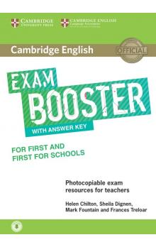 Cambridge English Exam Booster for First and First for Schools with Answer Key with Audio -- Rozšiřující vzdělávací materiály