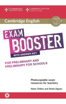Cambridge English Exam Booster for PET and PET for Schools with Answer Key with Audio -- Rozšiřující vzdělávací materiály
