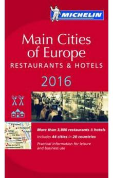 Main cities of Europe 2016 MICHELIN Guide
