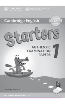 Cambridge English Young Learners 1 for revised exam from 2018 Starters Answer Booklet -- Rozšiřující vzdělávací materiály