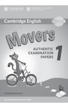 Cambridge English Young Learners 1 for revised exam from 2018 Movers Answer Booklet -- Rozšiřující vzdělávací materiály