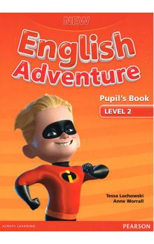New English Adventure 2 Pupil´s Book w/ DVD Pack