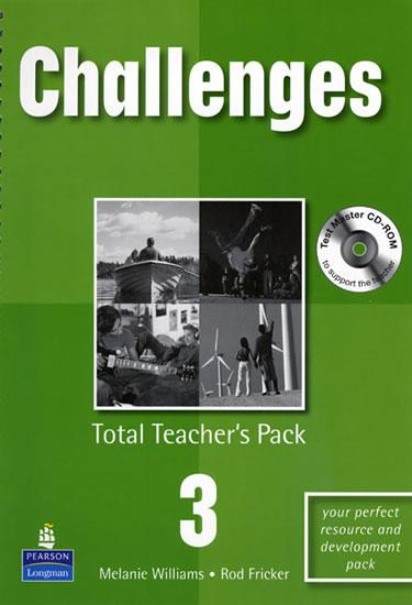 Challenges Total Teacher´s Pack 3 w/ Test Master CD-ROM Pack