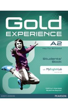 Gold Experience A2 Students´ Book w/ DVD-ROM & MyEnglishLab Pack
