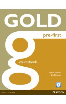 Gold Pre-First Coursebook and CD-ROM Pack