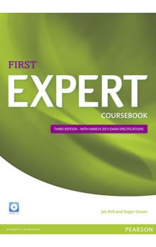 Expert First 3rd Edition Coursebook w/ CD Pack