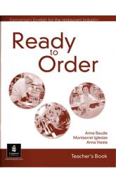 English for Tourism: Ready to Order Teacher´s Book
