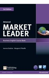 Market Leader 3rd Edition Advanced Coursebook w/ DVD-Rom Pack