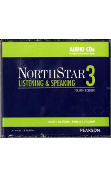 NorthStar 4th Edition Listening and Speaking 3 Class Audio CDs