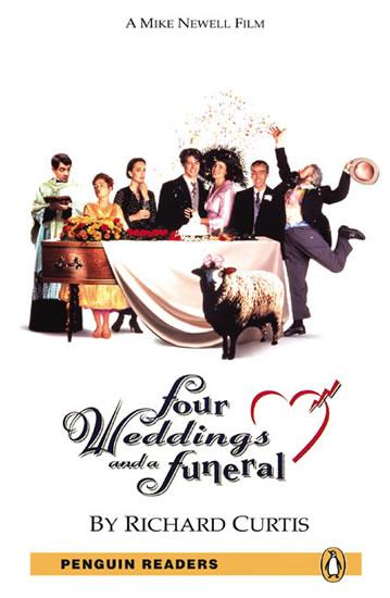 PER | Level 5: Four Weddings and a Funeral Bk/MP3 Pack
