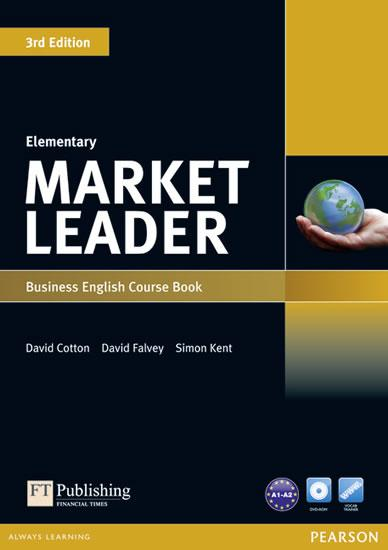 Market Leader 3rd Edition Elementary Coursebook w/ DVD-Rom Pack