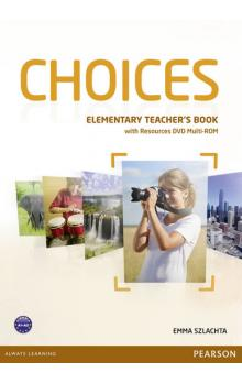 Choices Elementary Teacher´s Book w/ DVD Multi-Rom Pack