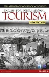 English for International Tourism New Edition Pre-Intermediate Workbook w/ Audio CD Pack (no key)