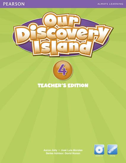 Our Discovery Island American Edition Teacher´s Book w/ Audio CD 4 Pack