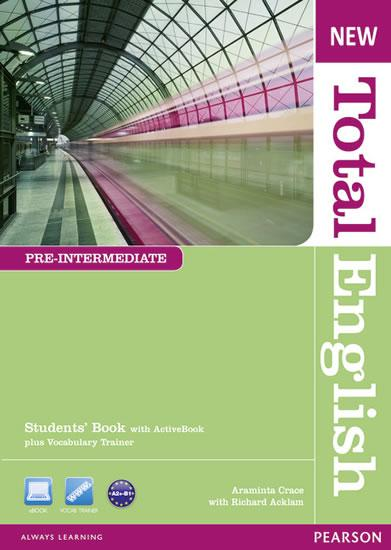New Total English Pre-Intermediate Students´ Book w/ Active Book Pack
