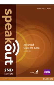 Speakout Advanced 2nd Edition Students´ Book and DVD-ROM Pack