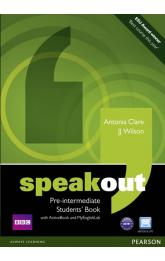 Speakout Pre-Intermediate Students´ Book w/ DVD/Active book/MyEnglishLab Pack