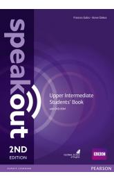Speakout 2nd Edition Upper Intermediate Students´ Book w/ DVD-ROM Pack