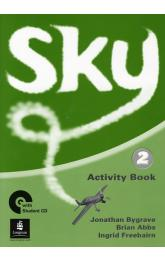 Sky 2 Activity Book w/ CD Pack
