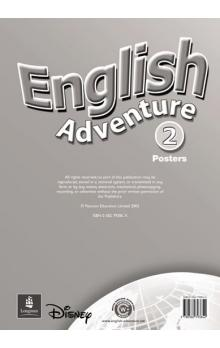 English Adventure Level 2 Posters