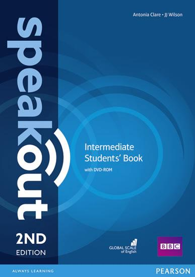 Speakout 2nd Edition Intermediate Students´ Book w/ DVD-ROM Pack