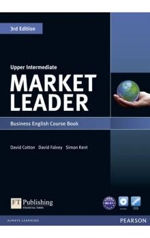 Market Leader 3rd Edition Upper Intermediate Coursebook w/ DVD-Rom Pack