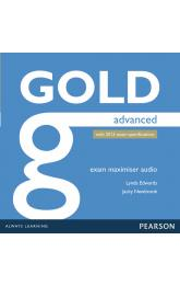 Gold Advanced 2015 Exam Maximiser Class Audio CDs