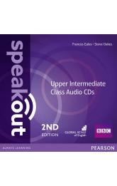 Speakout 2nd Edition Upper Intermediate Class CDs (2)