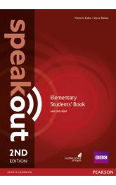 Speakout 2nd Edition Elementary Students´ Book w/ DVD-ROM Pack