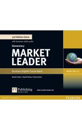 Market Leader 3rd Edition Extra Elementary Class Audio CD