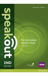 Speakout 2nd Edition Pre-Intermediate Students´ Book w/ DVD-ROM Pack
