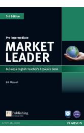 Market Leader 3rd Edition Pre-Intermediate Teacher´s Resource Book w/ Test Master CD-ROM Pack