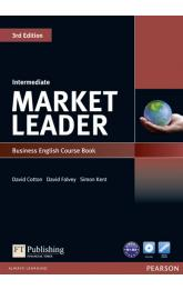 Market Leader 3rd Edition Intermediate Coursebook w/ DVD-Rom Pack