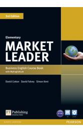 Market Leader 3rd Edition Elementary Coursebook w/ DVD-ROM/ MyEnglishLab Pack