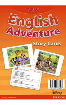 New English Adventure 2 Story cards