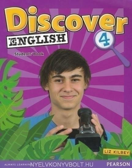 Discover English CE 4 Students´ Book - Kilbey Liz