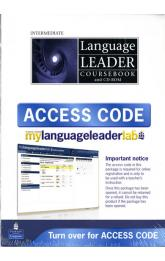 Language Leader Intermediate Coursebook w/ CD-ROM/LMS/Access Card Pack