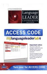 Language Leader Upper Intermediate Coursebook w/ CD-ROM/LMS/Access Card Pack