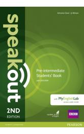 Speakout 2nd Edition Pre-Intermediate Students´ Book w/ DVD-ROM/MyEnglishLab Pack