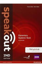 Speakout 2nd Edition Elementary Students´ Book w/ DVD-ROM/MyEnglishLab Pack