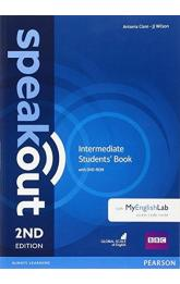 Speakout 2nd Edition Intermediate Students´ Book w/ DVD-ROM/MyEnglishLab Pack