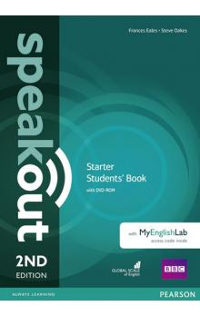 Speakout Starter Students´ Book with DVD-ROM and MyEnglishLab Access Code Pack