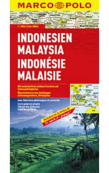 Indonesie, Malajsie/mapa 1:2M MD